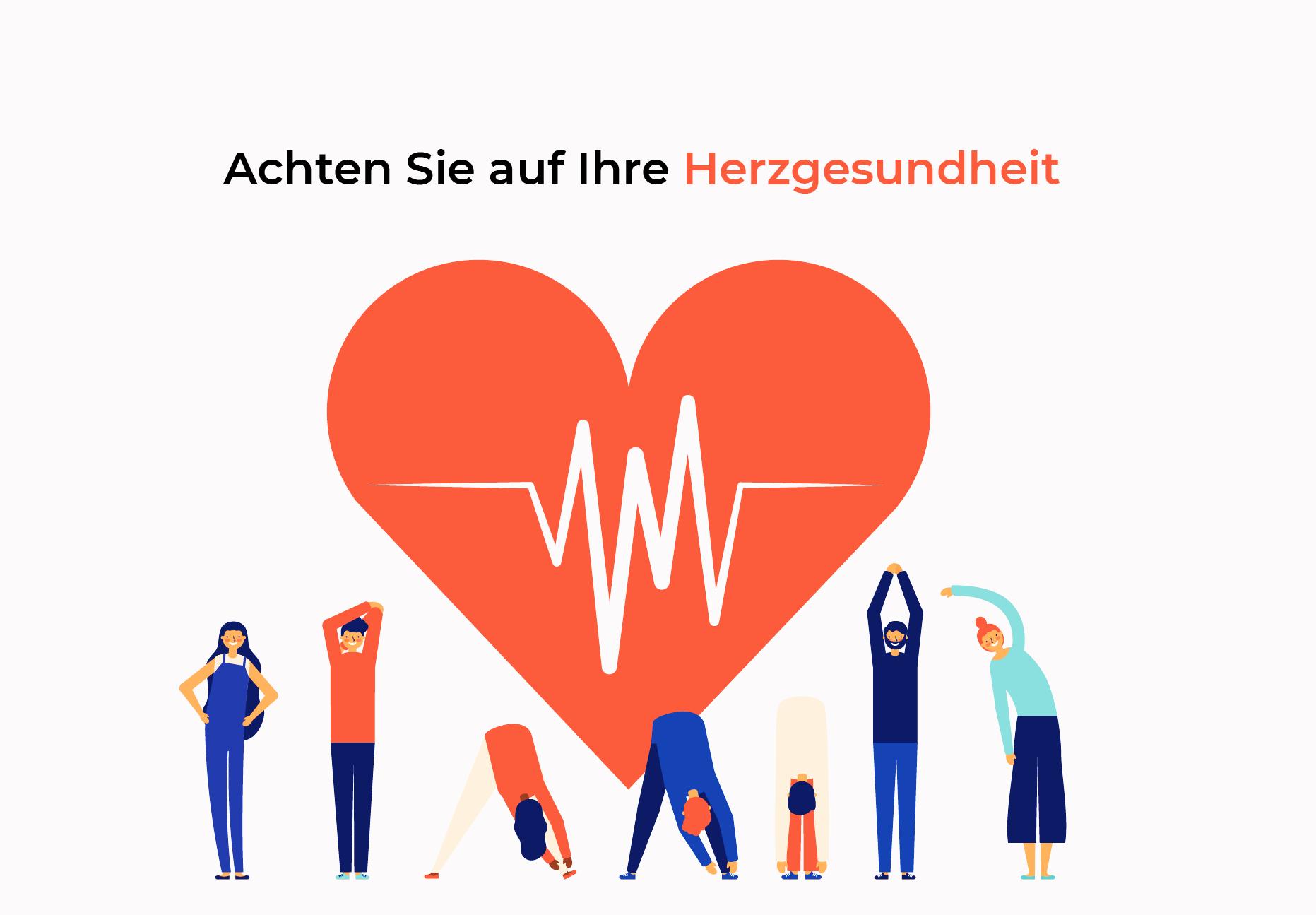 Achten Sie auf Ihre Herzgesundheit
