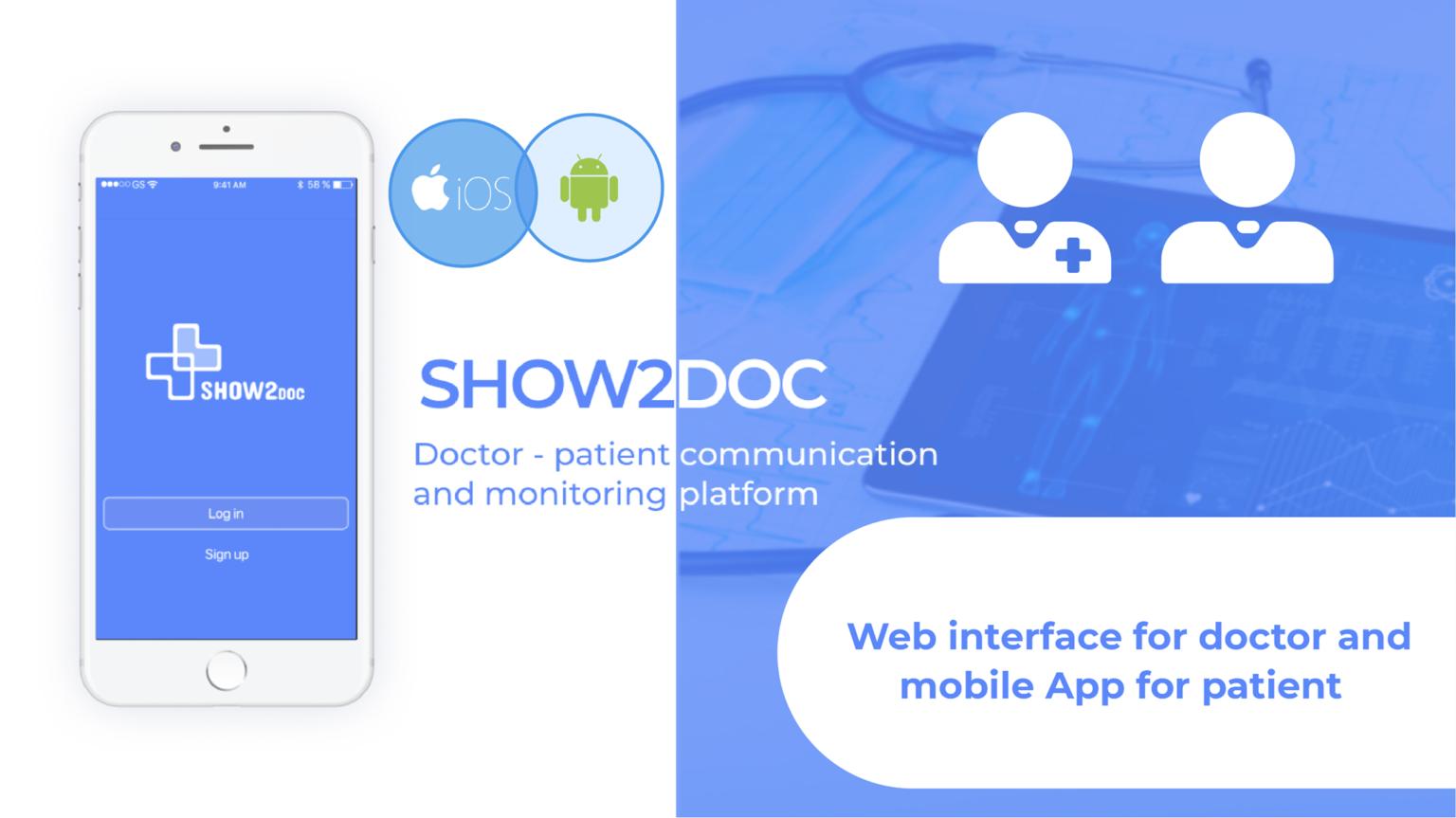 Show2Doc – Arzt-Patient-Kommunikations- und Überwachungsplattform