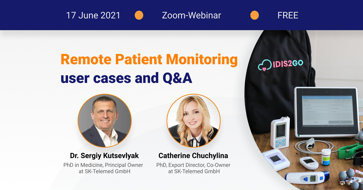 Online Event: Remote Patient Monitoring user cases
